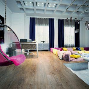 Efektní moderní podlahoviny