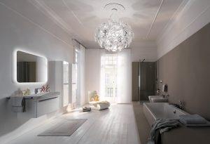 Ideální řešení pro velké koupelny