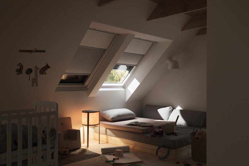 Nezbytná součást střešních oken