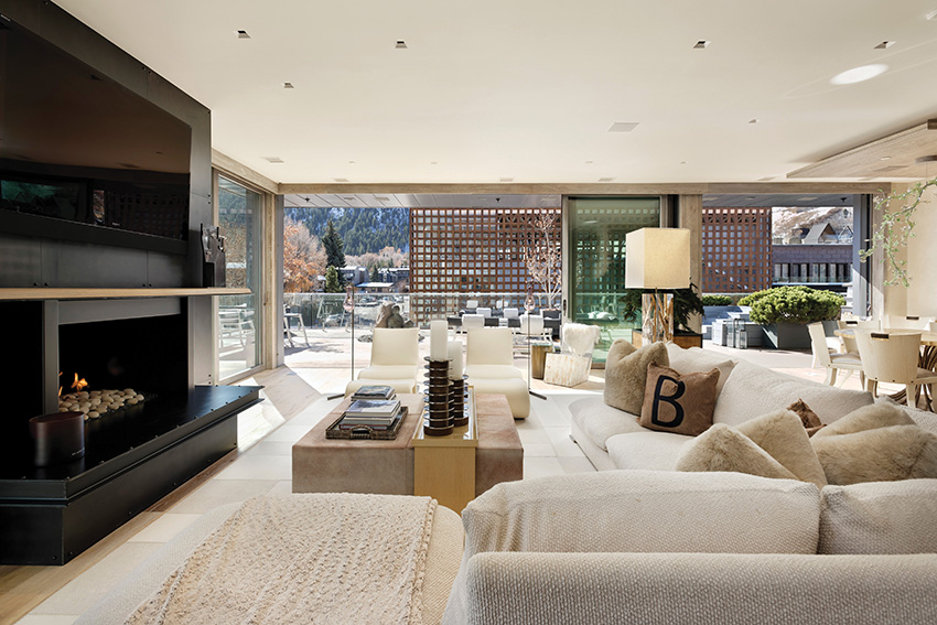 Elegantní penthouse v lyžařském ráji