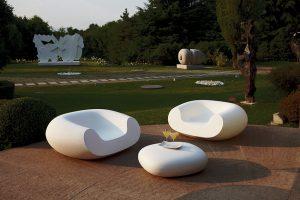 MARCEL WANDERS navrhl pro italskou značku Slide pohodlné a tvarově lákavé křeslo Chubby. www.slide.it
