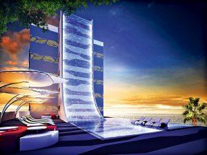 V okolí hotelu bude velké množství středisek zaměřených na rozličné programy, procedury a sportovní vyžití.