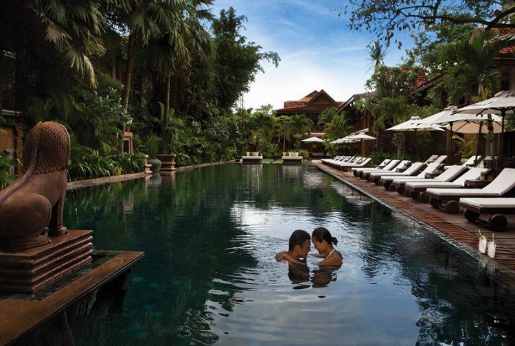 La Résidence D'Angkor je přírodní oázou na zemi.