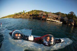 Resort nabízí široký kaleidoskop sportovních a kulturních aktivit. Kromě jízdy na koni, golfu, výletů do deštného pralesa či surfování je možné ponořit se na dno oceánu díky ponorce DeepFlight Super Falcon.