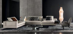 """WHITE, design Rodolfo Dordoni. Nové variace na téma """"bílé pohovky"""" pro Minotti představují vysoce architektonický koncept, spojující příjemnou eleganci s dokonalou funkčností. MINOTTI, www.minotti.it"""