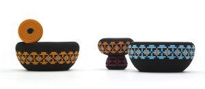 STUDIO GLIMPT pro značku Cappellini navrhlo taburety, které mohou sloužit jako kávové stolky. CAPPELLINI, www.cappellini.it